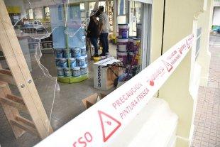 Vandalismo en dos comercios