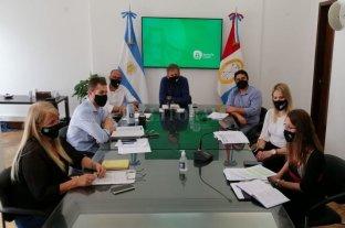 Jatón se volvió a reunir con el Comité Municipal de Gestión de Riesgos