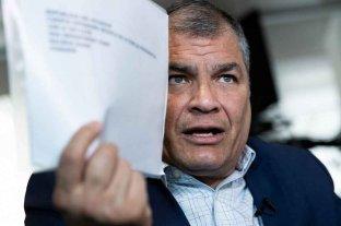 Rafael Correa rechazó el pedido de captura hecho en su contra por la justicia de Ecuador