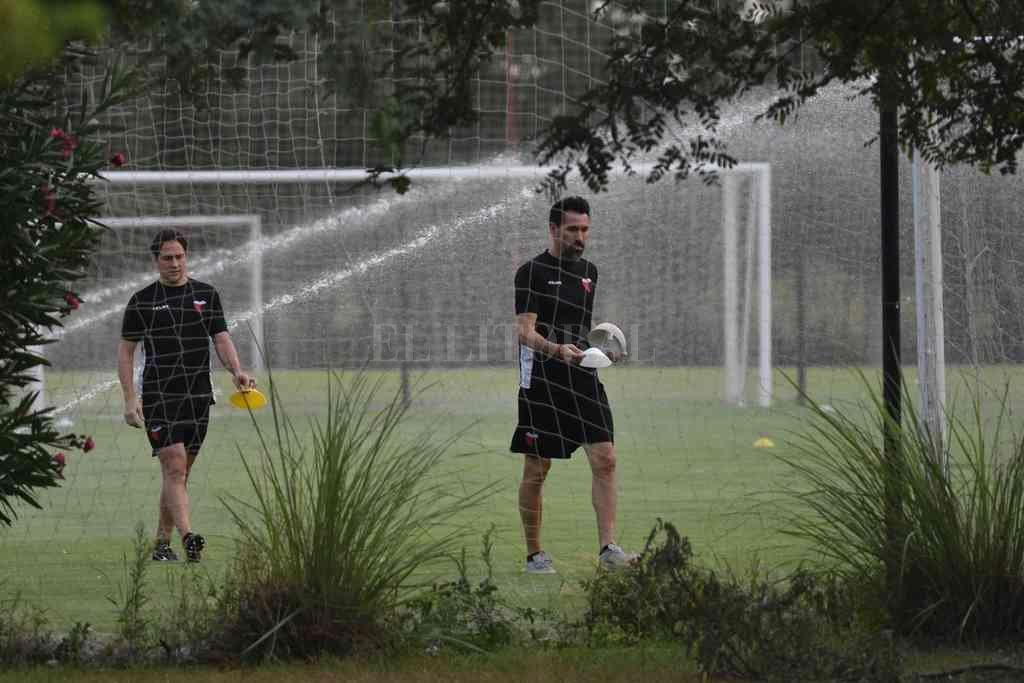 Todo arreglado en lo económico entre Colón y Domínguez para así seguir adelante con el trabajo deportivo. Crédito: Mauricio Garín