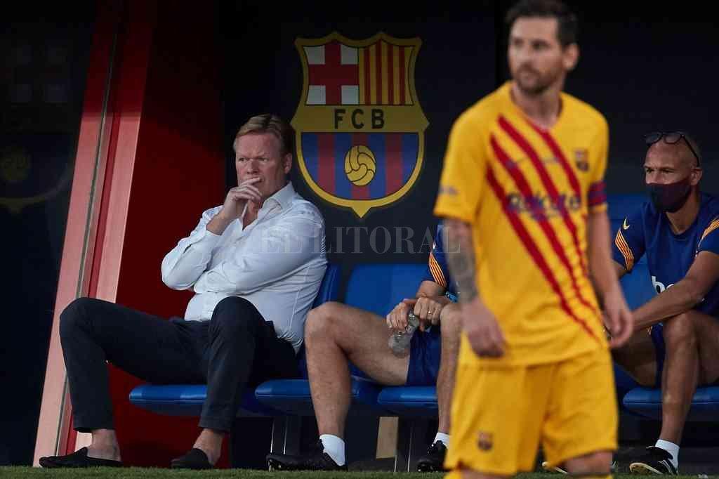 La relación entre Messi y el nuevo DT Koeman es fría, sobre todo a partir de la partida obligada de varios jugadores amigos de la