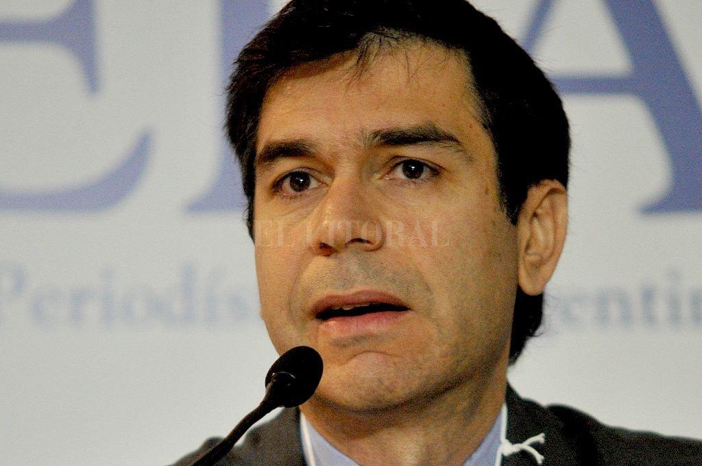 Daniel Dessein, titular de la Comisión de Libertad de Prensa e Información de Adepa.  Crédito: Archivo El Litoral
