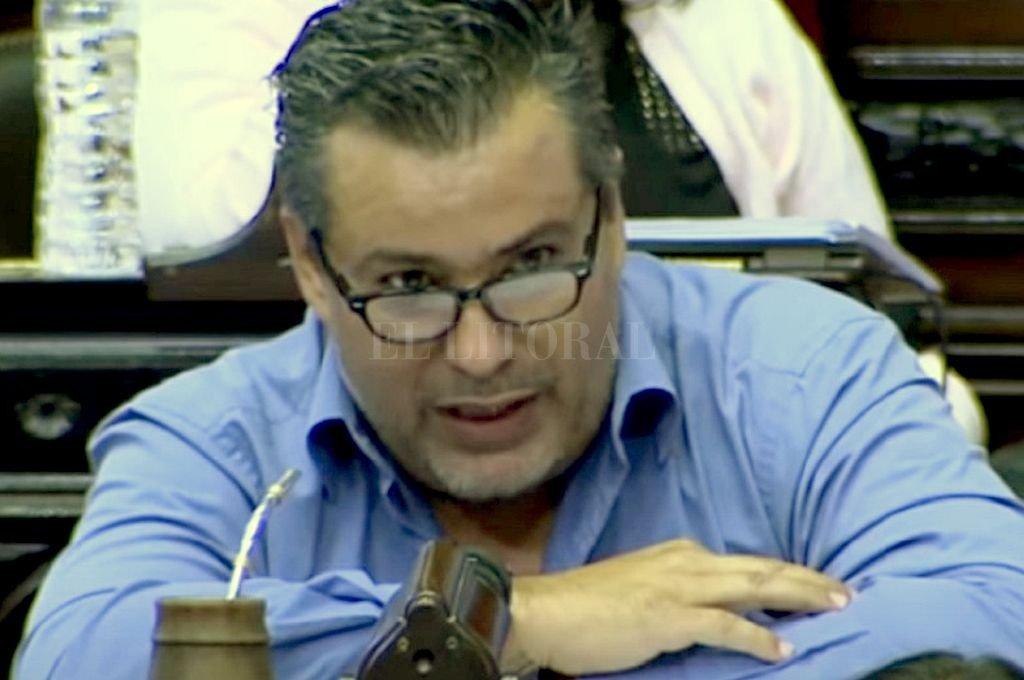 Juan Amerí, ahora ex diputado, protagonista del escándalo sexual durante una sesión virtual. Crédito: Archivo El Litoral