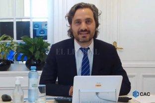 """Cafiero criticó la política """"en formato de trolls y noticias falsas"""" de la oposición"""