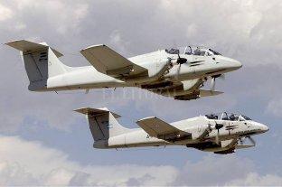 """El """"Pucará"""" vuelve a volar como plataforma de vigilancia aérea -  -"""