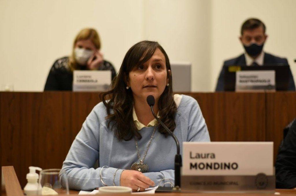 Laura Mondino (concejala, Frente Progresista Cívico y Social) Crédito: Gentileza