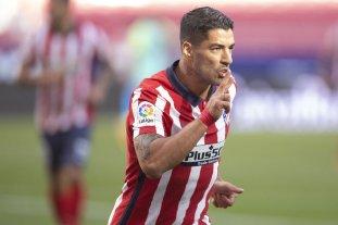Doblete de Luis Suárez en su debut con el Atlético Madrid