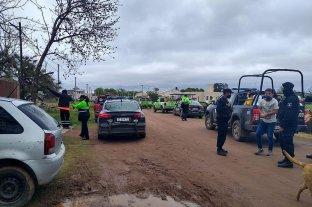 Medio centenar de personas demoradas por fiesta clandestina en el sur de Santa Fe -