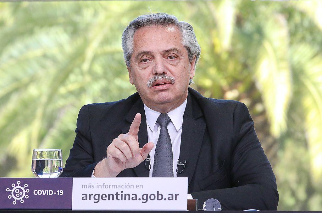 Alberto Fernández volvió a criticar la meritocracia.  Crédito: Presidencia de la Nación/Archivo