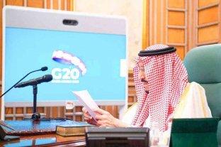 La cumbre del G20 se realizará de forma virtual el 21 y 22 de noviembre