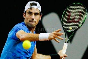 Guido Pella hace su presentación en Roland Garros