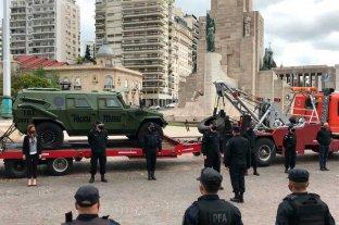 """40 """"federales"""" desembarcaron en Rosario para frenar la violencia"""