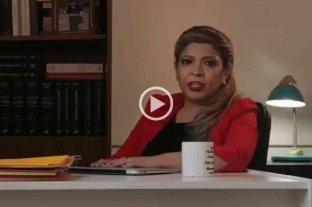 """""""Llamen a la Noriega"""": el video de una abogada sanjuanina para promocionarse"""