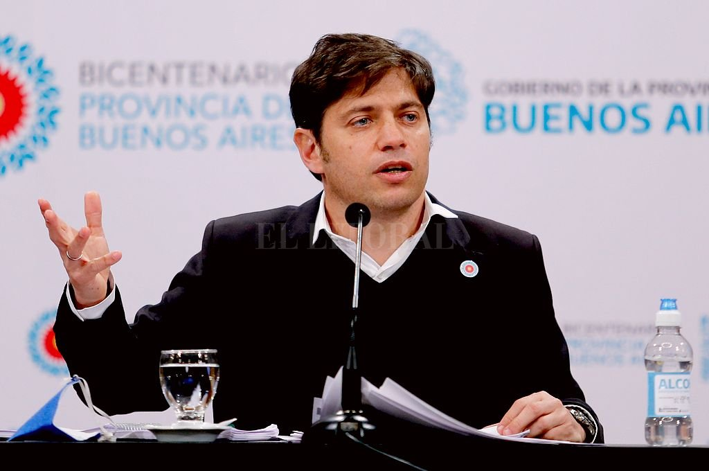 Axel Kicillof, gobernador de la provincia de Buenos Aires. Crédito: NA