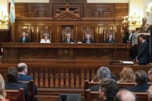 La Corte trata el caso de los tres jueces desplazados