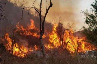 Incendios en Córdoba: continúa el combate contra tres focos activos en la provincia -  -
