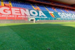 Alarma en la Serie A: el Genoa confirmó 14 casos de Covid-19 en su plantel