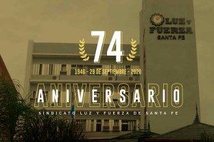 74° aniversario de la fundación del Sindicato de Luz y Fuerza de Santa Fe  -  -