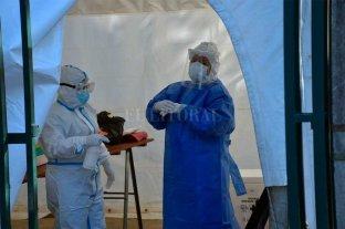 Coronavirus en Santa Fe: por turnos, se hacen hisopados en el Sayago -  -