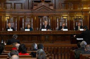 "La Corte comenzó a analizar el ""per saltum"" presentado por Bruglia, Bertuzzi y Castelli -  -"