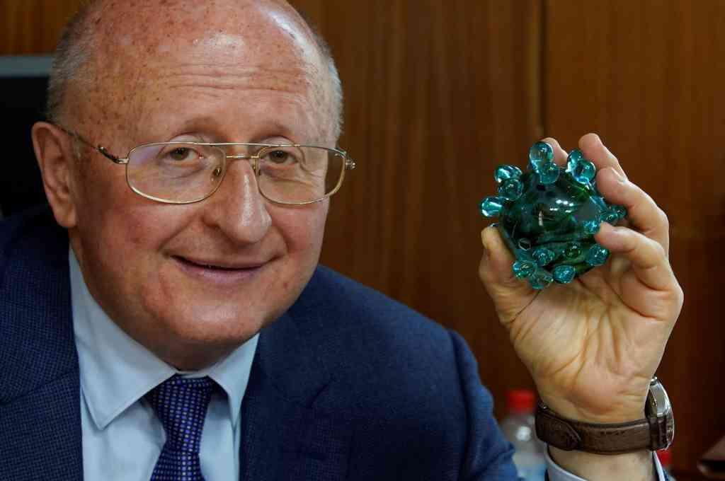 El científico Alexander Gintsburg, jefe del Instituto Gamaleya, que desarrolló la vacuna Sputnik V. Crédito: Gentileza