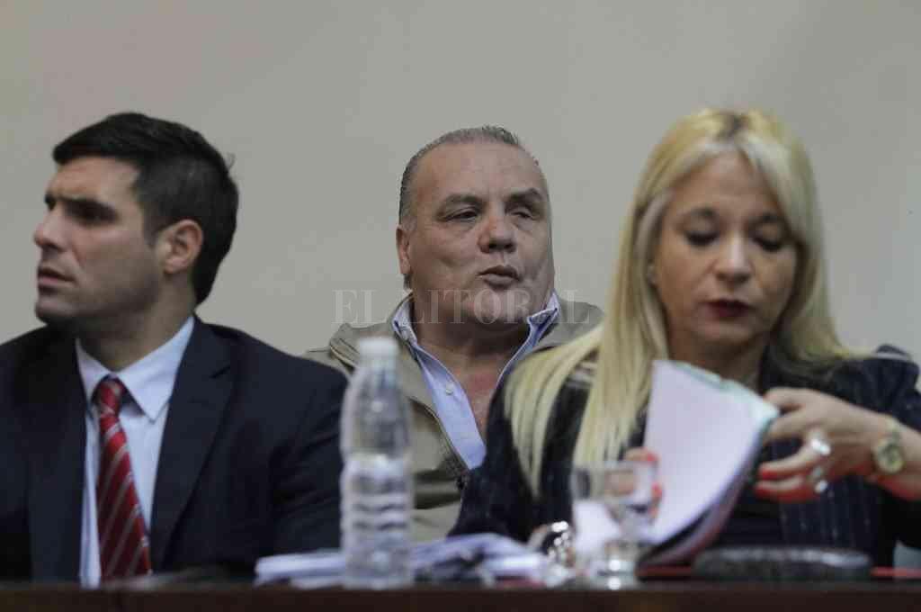 Mendoza fue condenado en tres oportunidades -1983, 2000 y 2015-, la última, en el histórico juicio al ex jefe de policía Hugo Tognoli. Crédito: Archivo El Litoral