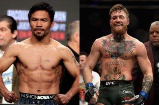 Asistente de Manny Pacquiao confirma que negocian pelea con Conor McGregor
