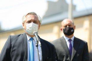 """Perotti agradeció al Presidente """"su acompañamiento en el desafío más grande de la historia"""""""