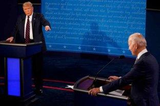 Elecciones en Estados Unidos: Trump y Biden debatieron entre gritos y mucha tensión  -  -