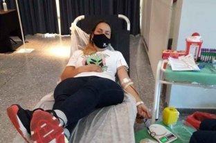 """Cuando donar sangre nos compromete con los demás - En total 43 donantes hicieron su desinteresado aporte. """"Se salvaron 172 vidas"""", dicen los organizadores.    -"""
