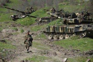 Buscan reanudar misión de observación europea en Nagorno Karabaj, mientras continúan los combates