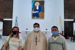 La Diputada Armas Belavi participó de la toma de posesión del párroco de la cuasi parroquia San Jerónimo - Diputada Natalia Armas Belavi -