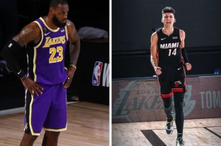 Lakers y Heat arrancan las finales de la NBA