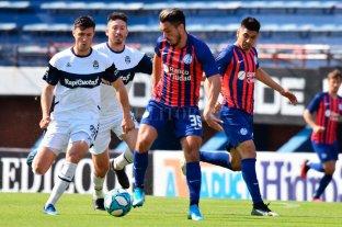 Empate sin goles entre San Lorenzo y Gimnasia