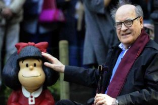 Murió Quino, el creador de Mafalda -