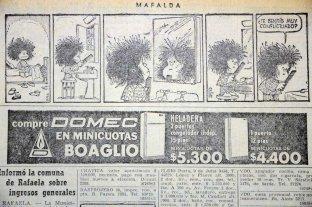 La historia de Mafalda y sus apariciones en El Litoral -  -
