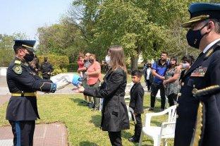 Ataque en Palermo: la Policía Federal despidió con honores a Juan Pablo Roldán