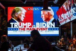 Analizan modificar las reglas tras el caos del primer encuentro entre Trump y Biden