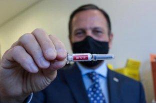 El gobernador de San Pablo dice que podrá iniciar la vacunación contra el Covid-19 el 15 de diciembre
