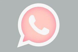 Cómo cambiar el ícono verde de WhasApp a rosa, paso a paso -  -