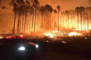 Las sierras de Córdoba bajo Alerta Amarilla: siguen activos dos grandes focos de incendios