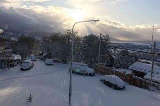 Ushuaia recibió octubre con la mayor nevada del año