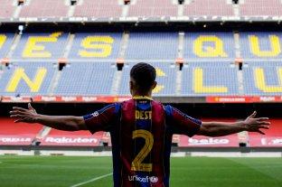 Barcelona ficha al defenso Sergiño  Dest