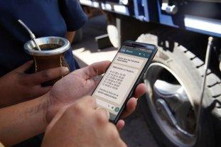 No más demoras: con un turno por WhatsApp tienen prioridad para descargar granos