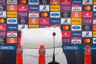 Video: el descuido de Gallardo que no se dio cuenta que tenía el micrófono abierto