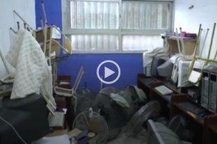 Alto Verde: vandalizaron y robaron en el colegio Jesús Resucitado
