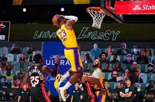 Lakers y Heat disputan la segunda final de la NBA