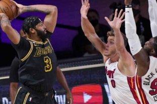 Los Lakers vuelven a ganar a Heat en la segunda final de la NBA