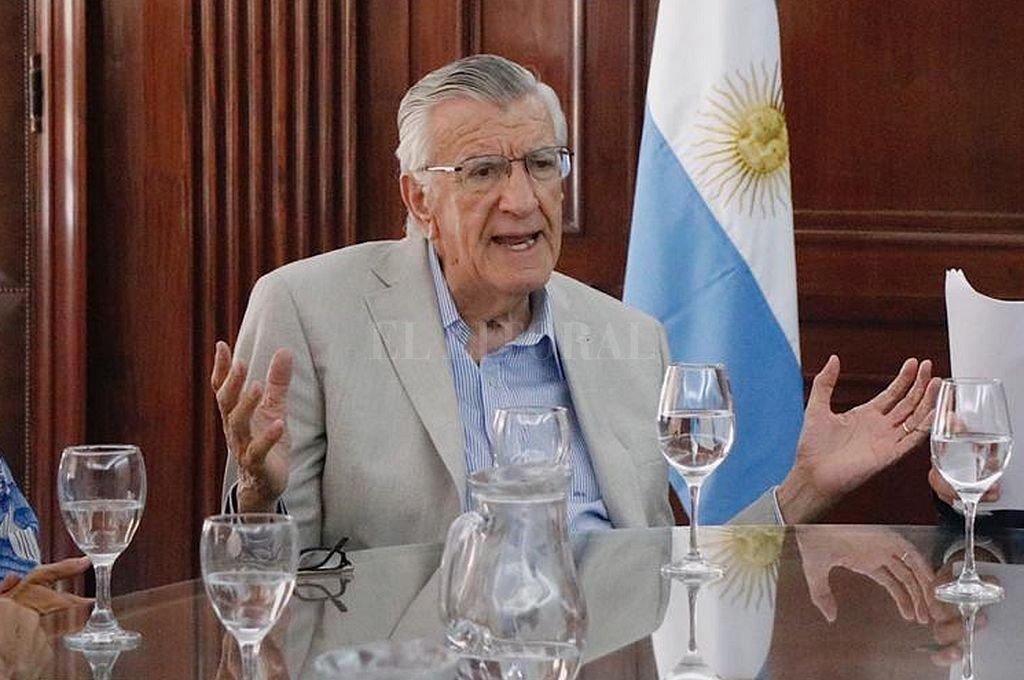 José Luis Gioja, presidente del PJ. Crédito: Captura digital