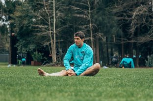 """Tomás Cubelli: """"Tengo una alegría comparable como la primera vez que vestís la camiseta de Los Pumas"""""""